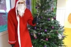 Der Nikolaus scheint sich sehr gesund zu ernähren